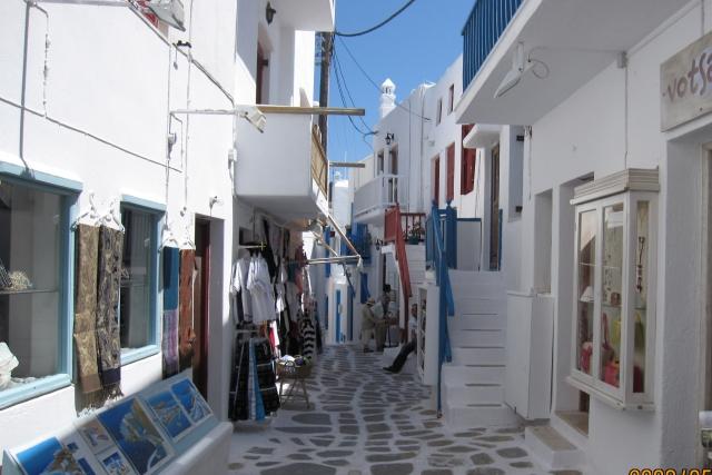 ミコノス島 漆喰